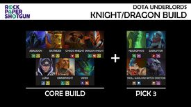 Image for Dota Underlords builds [October] - 7 best builds for Knight, Troll, Mage, Savage, and more