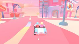 Image for Explore a pretty pastel city in Drive Me To The Moon