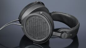 a photo of some pretty high-end hifiman he5xx planar magnetic headphones from drop