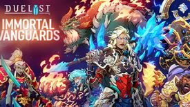 Image for Duelyst adds 100 cards in Immortal Vanguard expansion