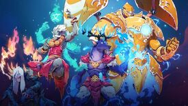 Image for Duelyst expands monster library with Ancient Bonds