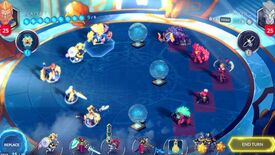 Image for Duelyst launches its Frostfire Festival featuring a special game mode