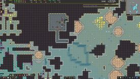 Inspecting dwarves and a fortress in a screenshot from the premium edition of Dwarf Fortress.