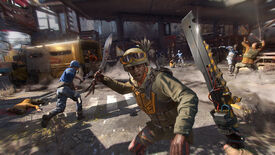 A knife duel in a Dying Light 2 screenshot.