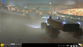 Image for Project Eagle is a Homeworld-tinged model of NASA's dream Martian base