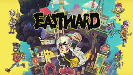 Artwork showing all the main characters from Eastward