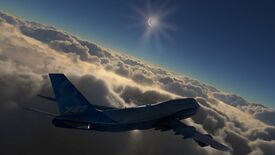 Image for How to see a solar eclipse in Microsoft Flight Simulator