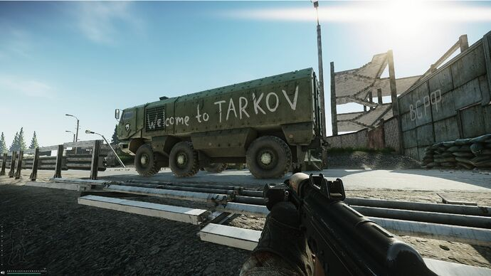 Image for The joy of playing Escape From Tarkov in single player