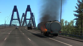 Image for The ugly beauty of Euro Truck Sim 2's first collusion with Russia