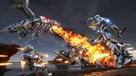Image for Exomecha will make you fight mechs, helicopters, and robo-dragons