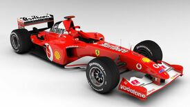 Image for Classic car in F1 2017 appears to be modder's work