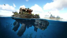 Image for Ark: Genesis lets you build houses on giant sea turtles