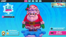 Image for Fall Guys leaves a Santa costume in your stocking this week