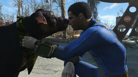 Image for A new Fallout 4 mod lets you pet any dog, any time