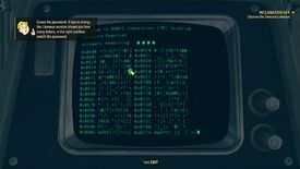 Image for Fallout 76 terminal hacking: upgrading your hacking skill