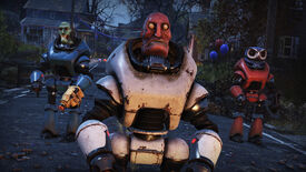 Image for Fallout 76's jolly Fasnacht robot parade is back on