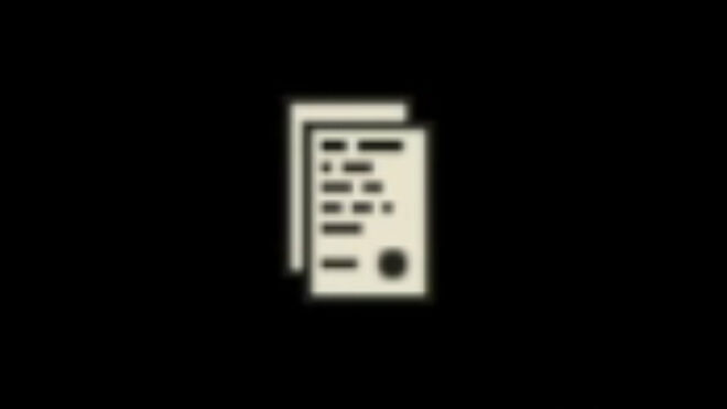 The autosave icon against a black screen in Far Cry 6.
