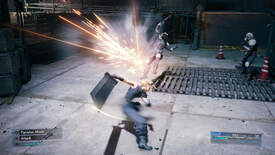 Image for The Final Fantasy VII Remake demo is an explosive and nostalgic crowdpleaser