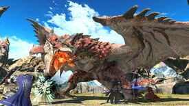 Image for Final Fantasy XIV launches Monster Hunter collabo today