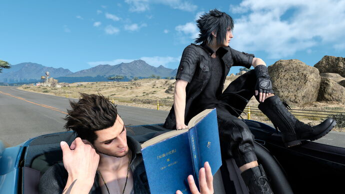 Image for A trip in Final Fantasy XV reminded me of Albania