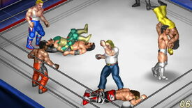 Image for Fire Pro Wrestling World launches off the top rope