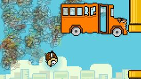 Image for Birds take the battle bus in Flappy Royale