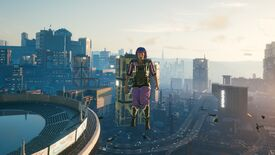 Image for Cyberpunk 2077's flying mod lets you see Night City from a new perspective