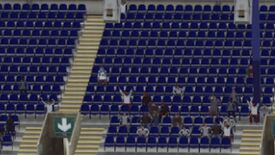 Image for The Joy Of Football Manager's sparse crowds