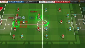 Image for Turn-Based Ball-Kicking In Football Tactics Demo