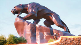 Image for Fortnite's Black Panther statue becomes an impromptu memorial