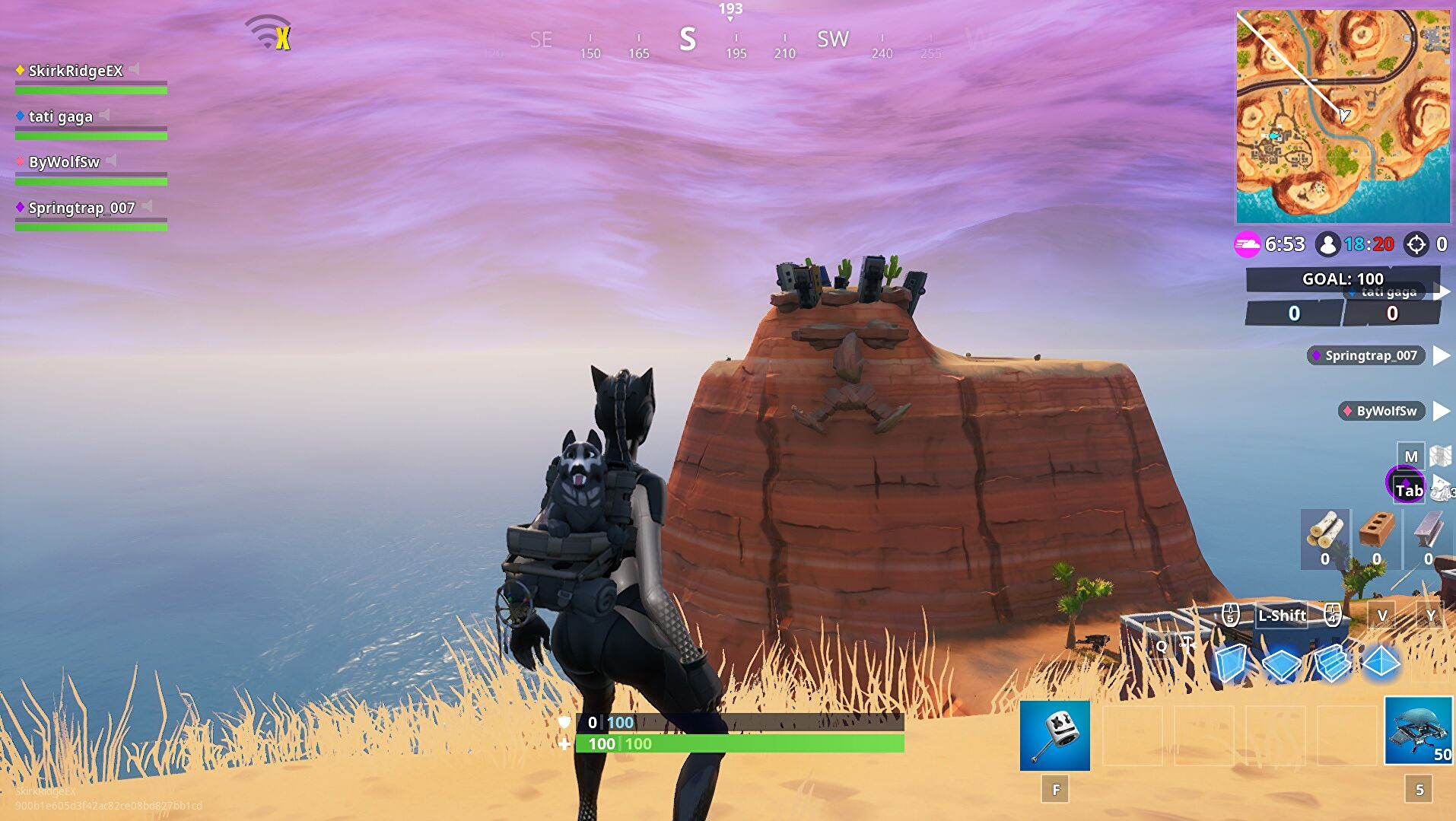 Fortnite Faces In The Snow Fortnite Giant Face Locations Find The Desert Jungle And Snow Giant Faces Rock Paper Shotgun
