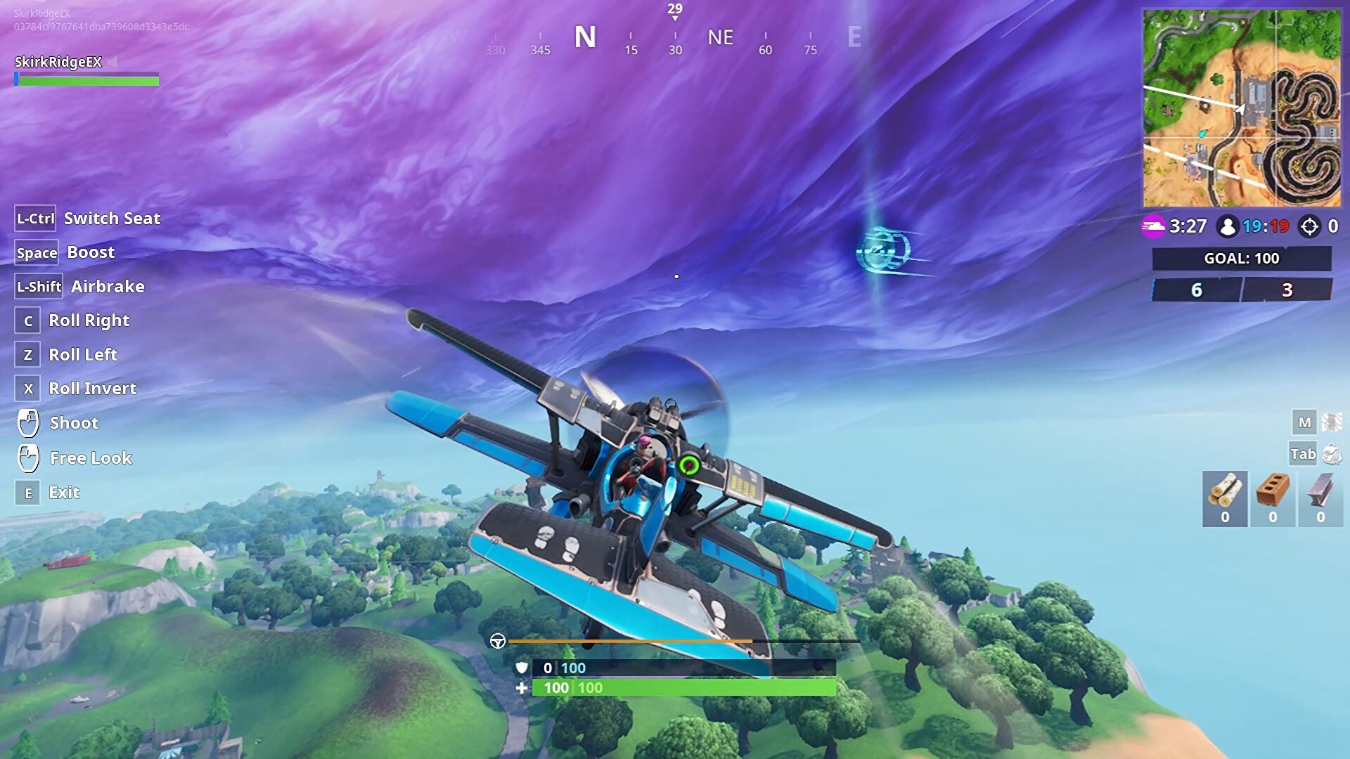 Fortnite Plane Parts Fortnite Plane Time Trial The Easiest Two Time Trial Courses Rock Paper Shotgun