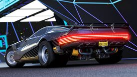 Image for Cyberpunk 2077's cyber car is now in Forza Horizon 4