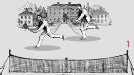 Image for Free Loaders: Aristocratic pong in Fancy-Ass Tennis