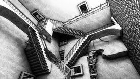 Image for Free Loaders: The puzzling rooms of M.C. Escher