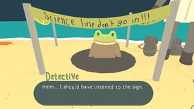 Image for The Haunted Island, A Frog Detective Game cracks the case today