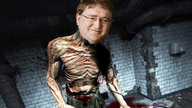 Dr. Wernicke from Outlast with the face of Gabe Newell