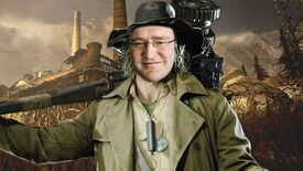 Karl Heisenberg from Resident Evil Village, but with the face of Gabe Newell
