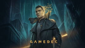 Artwork for the main character in Gamedec, also called Gamedec