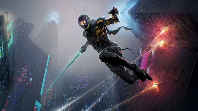 Image for Cyberpunk ninja slasher Ghostrunner has a sequel in the works