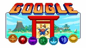 Image for People are speedrunning the Tokyo Olympics Google Doodle game