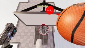 Image for Grapple Hoops' playable alpha is about acrobatic explosive dunks