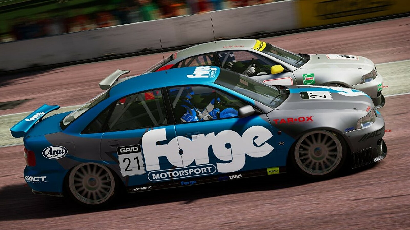 Grid Legends and Forza Horizon 5 are gunning for my heart
