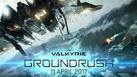 Image for EVE Valkyrie Groundrush update hits the floor April 11th