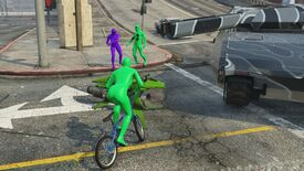Image for Now purple aliens are fighting GTA Online's green alien beatdown gangs