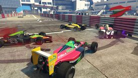 Image for GTA Online has added Formula One races, and it's a bloodbath