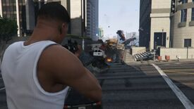 Image for GTA V Vehicle Cannon Mod Adds A Gun That Fires Cars