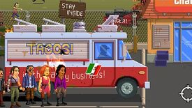 Image for Romero family's Gunman Taco Truck out, designed by 9-year-old