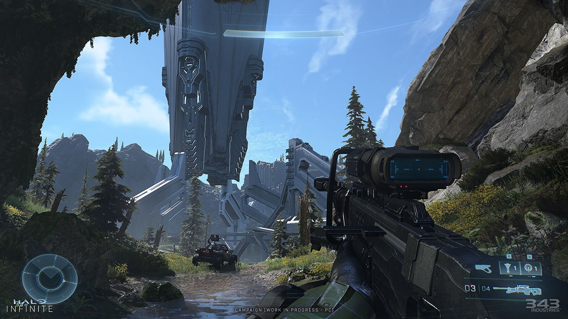 Halo Infinite developers call it a