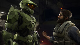 Master Chief and his mate in a Halo Infinite screenshot.